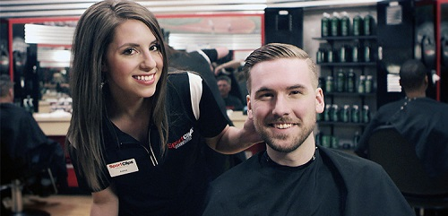 Sport Clips Haircuts of Spring​ stylist hair cut